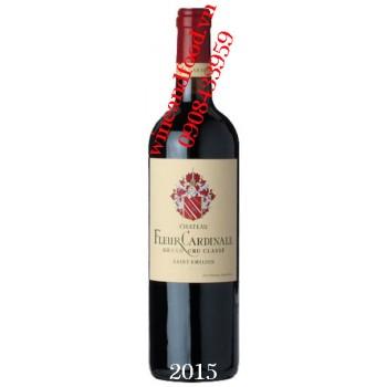 Rượu vang chateau Fleur Cardinale 2015