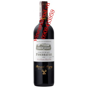 Rượu vang chateau Fombrauge 2010