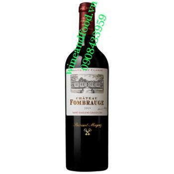 Rượu vang chateau Fombrauge 2015