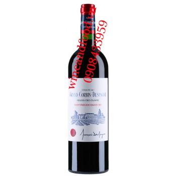Rượu vang chateau Grand Corbin d'Espagne 2013