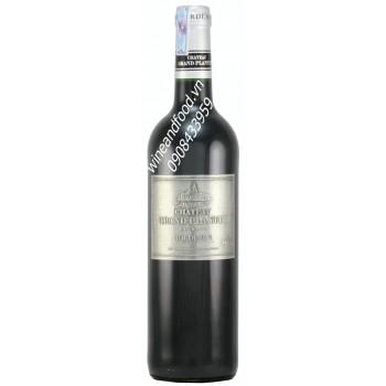 Rượu vang Chateau Grand Plantey