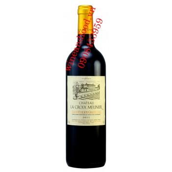Rượu vang Chateau La Croix Meunier Saint Emilion Grand Cru