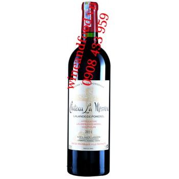 Rượu vang château La Mission Lalande De Pomerol 750ml