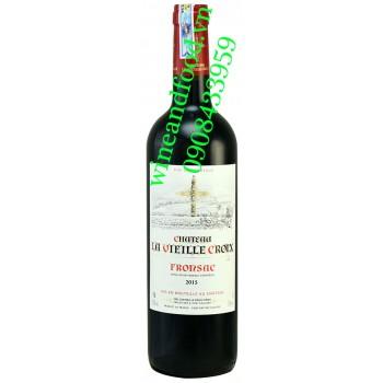 Rượu vang chateau La Vieille Croix Fronsac 750ml