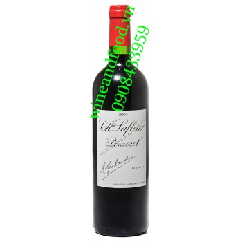 Rượu vang chateau Lafleur Pomerol 2004