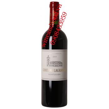 Rượu vang chateau Lagrange 750ml