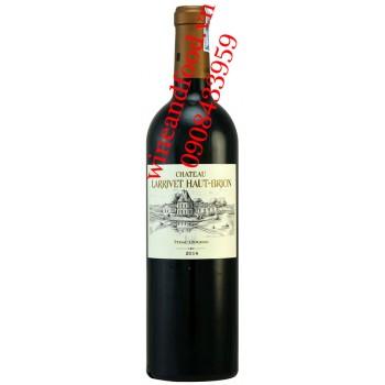 Rượu vang chateau Larrivet Haut Brison 2014