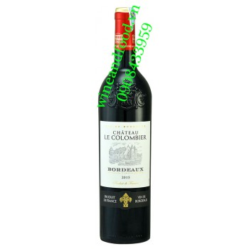 Rượu vang chateau Le Colombier 750ml
