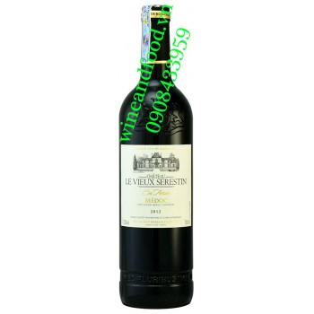 Rượu vang chateau le Vieux Serestin Cru Artisan Medoc