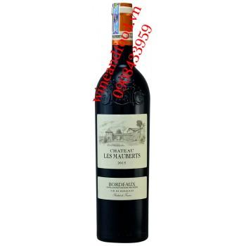 Rượu vang chateau Les Mauberts Bordeaux 750ml