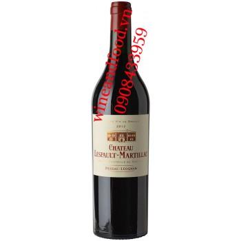 Rượu vang chateau Lespault Martillac 750ml