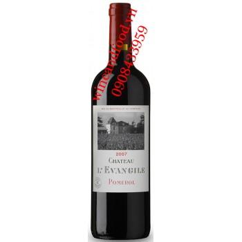 Rượu vang chateau L'Evangile Pomerol 2007
