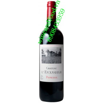 Rượu vang chateau L'Evangile Pomerol 2017
