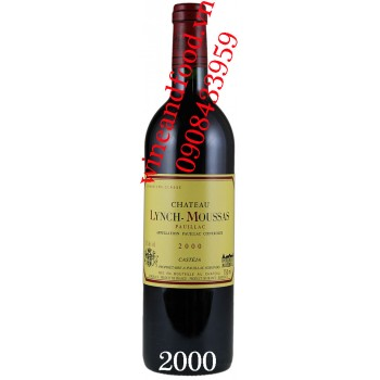 Rượu vang chateau Lynch Moussas 2000