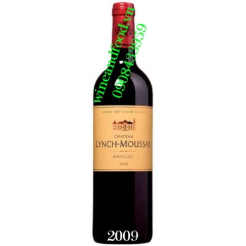 Rượu vang chateau Lynch Moussas 2009