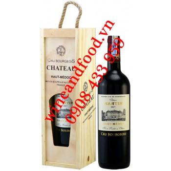 Rượu vang chateau Martin Haut Medoc Cru Bourgeois 750ml