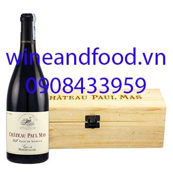 Rượu vang chateau Paul Mas