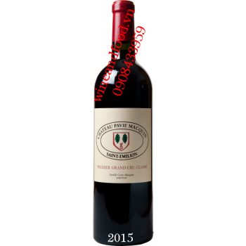 Rượu vang chateau Pavie Macquin 2015