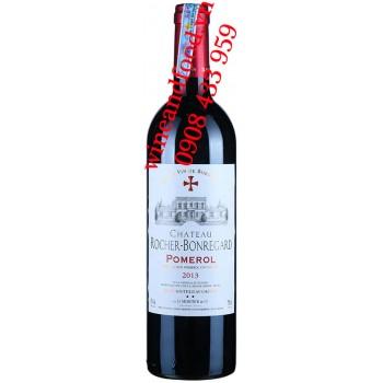 Rượu vang chateau Rocher Bonregard Pomerol 750ml