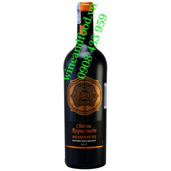 Rượu vang chateau Roquecourbe Minervois Grande Collection 750ml