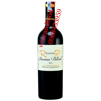 Rượu vang chateau Rousseau Pallard 750ml