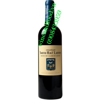 Rượu vang chateau Smith Haut Lafitte 2011
