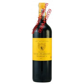 Rượu vang chateau Tayac Plaisance Margaux 2013