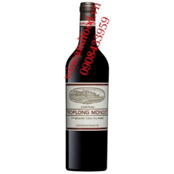 Rượu vang chateau Troplong Mondot 2014