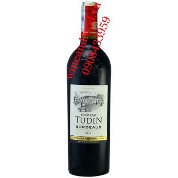 Rượu vang chateau Tudin Bordeaux 750ml