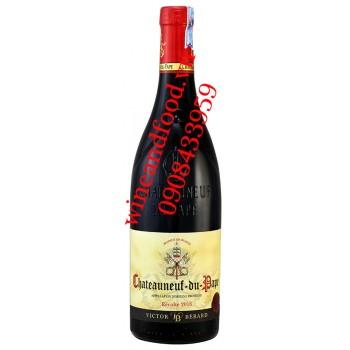 Rượu vang Chateauneud du Pape Victor Berard 750ml