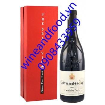 Rượu vang Chateauneuf Du Pape Chemin Des Papes