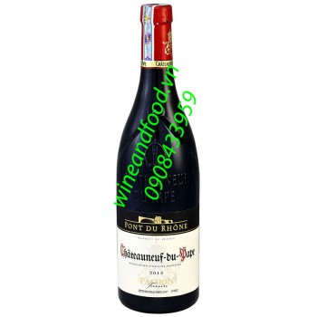 Rượu vang Chateauneuf Du Pape Point Du Rhone Passion Terroirs