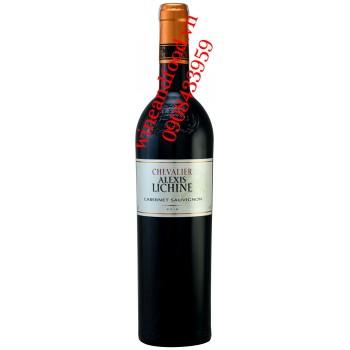 Rượu vang Chevalier Alexis Lichine Cabernet Sauvignon