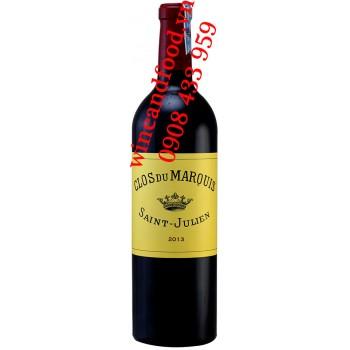 Rượu vang Clos du Marquis Saint Julien 750ml