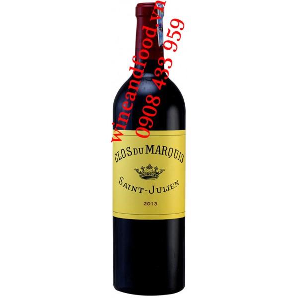 Rượu vang Clos Du Marquis 2ème vin 2005