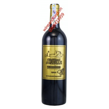 Rượu vang Corbieres Chateau Auzolle 2013