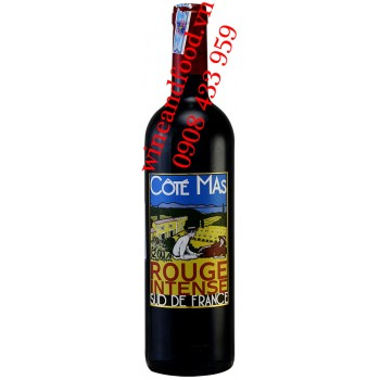 Rượu vang Côté Mas Rouge Intense Sud de France 750ml