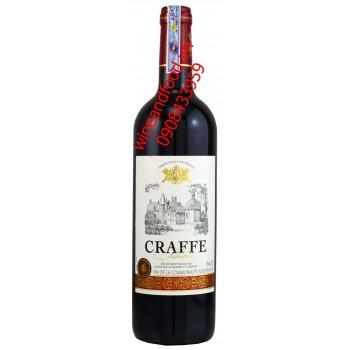 Rượu vang Craffe 750ml