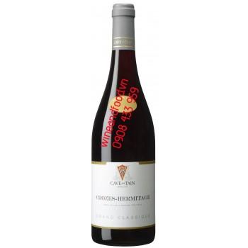 Rượu vang Crozes Hermitage Grand Classique Syrah 750ml