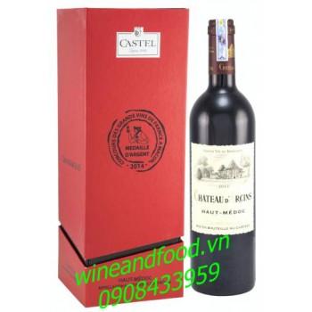 Rượu vang Cru Bourgeois chateau D'arcins