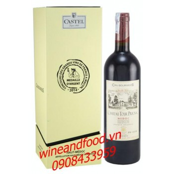 Rượu vang Cru Bourgeois chateau Tour Prignac