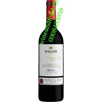 Rượu vang Delor Heritage 1864 750ml