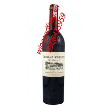 Rượu vang đỏ Bordeaux Chateau Fonfroide