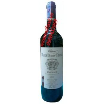 Rượu vang đỏ Bordeaux Chateau Marquis De La Grange