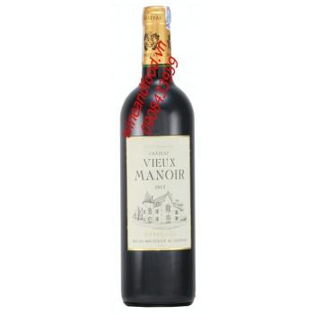 Rượu vang đỏ Bordeaux Chateau Vieux Manoir