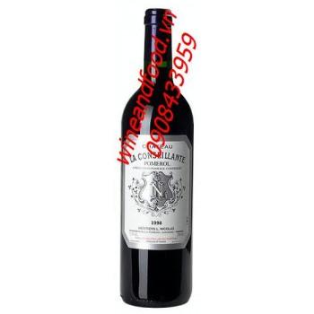 Rượu vang đỏ Chateau La Conseillante Pomerol 2008