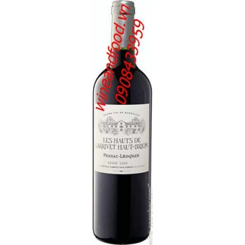 Rượu vang đỏ Chateau Larrivet Haut Brion 2009