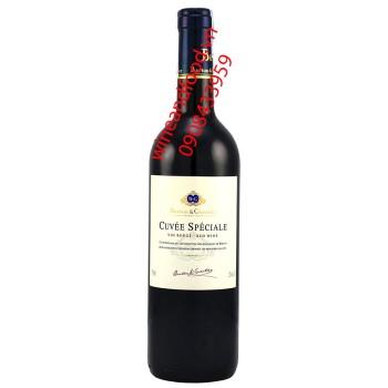Rượu vang đỏ Cuvee Speciale