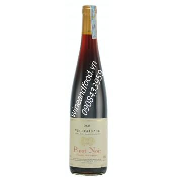 Rượu vang đỏ D'alsace Pinot Noir 750ml