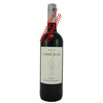 Rượu vang đỏ Domaine de L'arbre Blanc